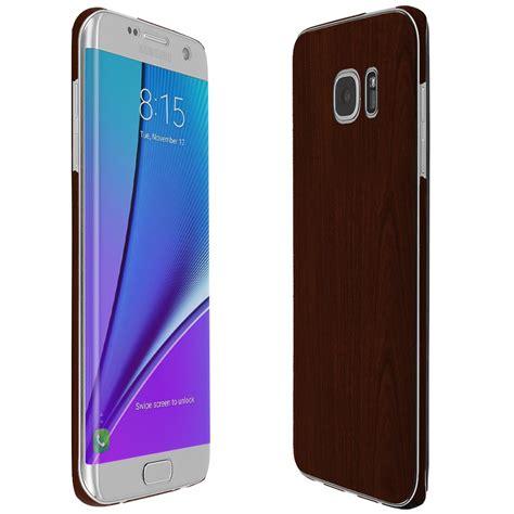 N Skin High Quality Skin Samsung Galaxy S7 3m Black Wood Justice Lari skinomi techskin samsung galaxy s7 edge wood skin protector coverage