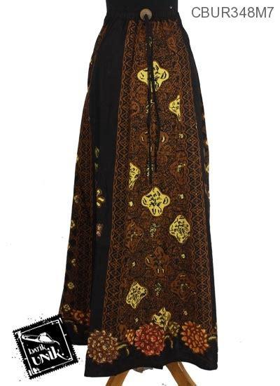 Rok Panjang Payung Bawahan Rok Muslim rok payung panjang katun motif kembang klasik bawahan rok murah batikunik