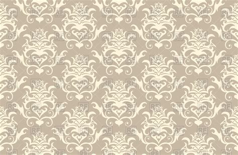 pattern classic vector vintage wallpaper seamless pattern royalty free vector