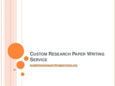 Custom Research Paper Writing custom research paper writing service