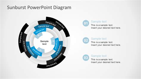 Free Sunburst Powerpoint Presentation Diagrams Powerpoint Use Diagram Template