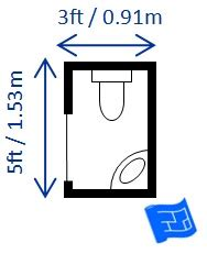 half bathroom dimensions bathroom dimensions