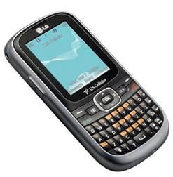 LG Saber Basic Bluetooth Messaging Phone Virgin Mobile