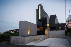 modern architecture hillside quot scape house quot disclosing a surprising geometry in
