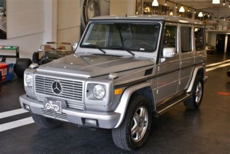 automotive repair manual 2003 mercedes benz g class lane departure warning buy used silver on black 2003 mercedes benz g wagon g500 in san francisco california united