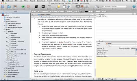 scrivener templates templates simply scrivener