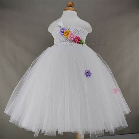 white baby dress 2016 high grade white baby dress wedding flower