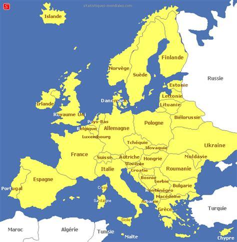 map de l europe carte de leurope
