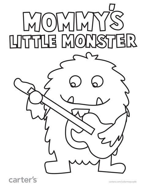 Little Monsters Coloring Pages | 33 best aliens images on pinterest aliens drawings and