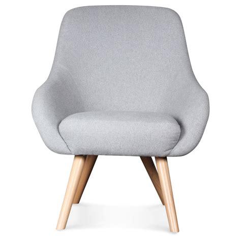 fauteuil tissu vintage fauteuil design scandinave tissu gris flanelle egg demeure et jardin