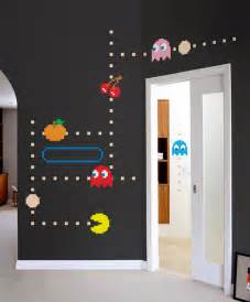 Bedroom Ideas For Teenagers Boys blik pac man wall decals