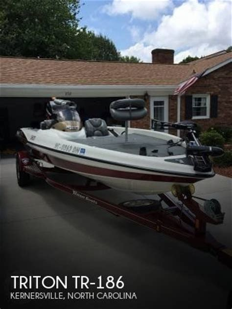 boats for sale in kernersville nc sold triton tr 186 boat in kernersville nc 115428