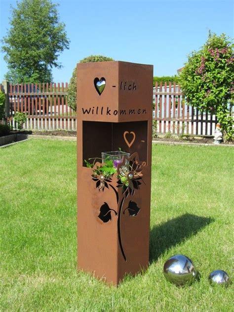 Garten Deko Metall Rost die besten 17 ideen zu metall gartenskulpturen auf