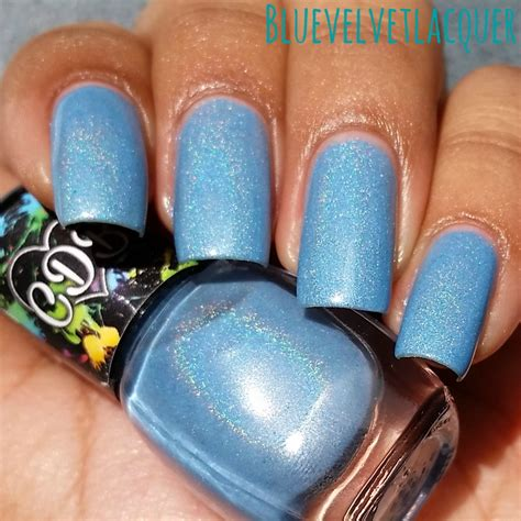 Blue Velvet Lacquer Cdb Lacquer January Le Crystal