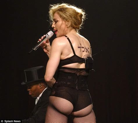 madonna body madonna 54 tries to shock in revealing lingerie but x