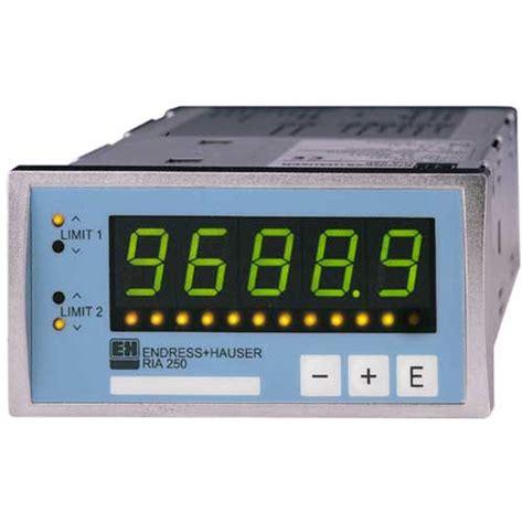 endress hauser ria45 process display ria250 endress hauser