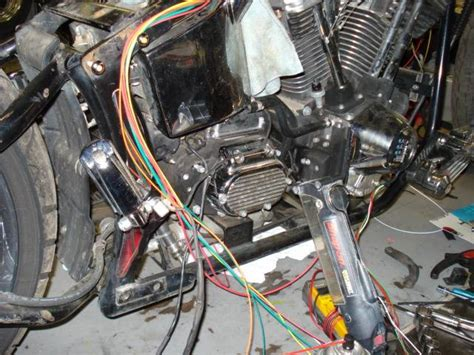 Switch Netral Thunder rewired a softail using a thunder harness v forum harley davidson forums