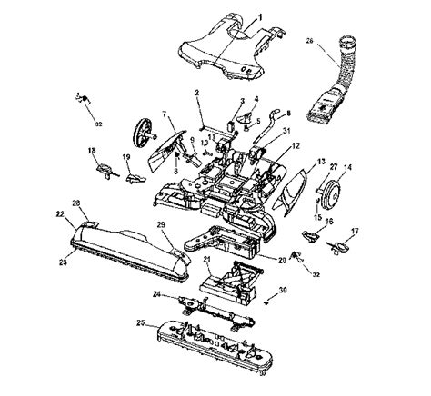 hoover floormate parts diagram hoover h3012 floormate plus spinscrub