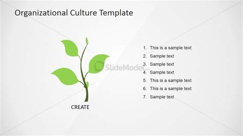 Hierarchy Organizational Culture Powerpoint Diagram Slidemodel Company Culture Template