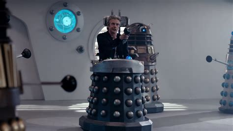 Dalek Chair kneel before doctor who the witch s familiar