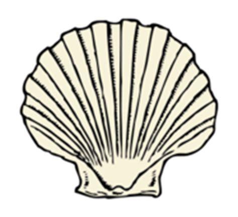 Fossil Kerang Blue scallop seashell vector 23 vectors page 1