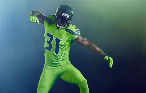 what are the seahawks colors seahawks are wearing the best color uniforms yet on