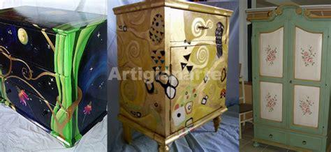 armadi dipinti a mano mobili dipinti a mano e decorati come li hai sempre desiderati