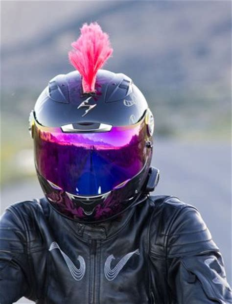 motocross helmet mohawk 101 awesome motorcycle helmet mohawks