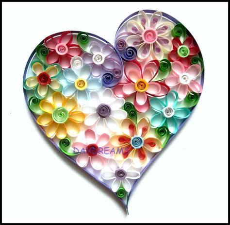 quilling designs daydreams quilled valentine