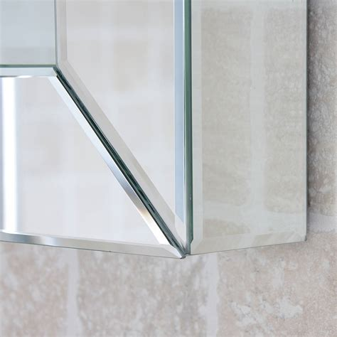 Bathroom Mirror Glass All Glass Bathroom Mirror By Decorative Mirrors Notonthehighstreet