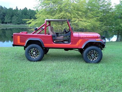 jeep cj8 1981 jeep scrambler pickup 177421