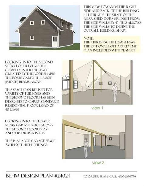 carriage house plans with loft garage plans garage plans with loft and loft on pinterest
