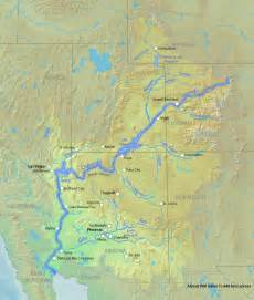 best photos of colorado river on united states map