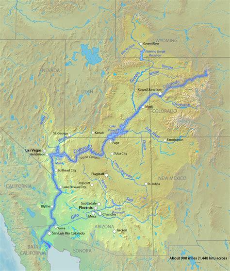 where does the colorado river start and end r 237 o colorado