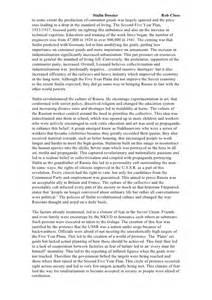 Joseph Stalin Essay by Joseph Stalin Essay