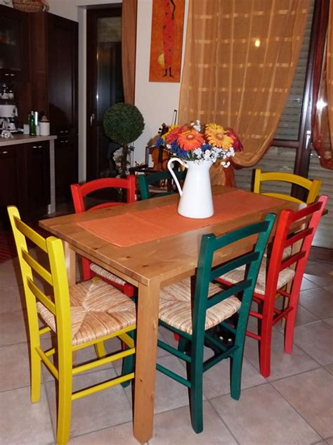 sedie impagliate colorate referenze sedie rustiche colorate sediarreda