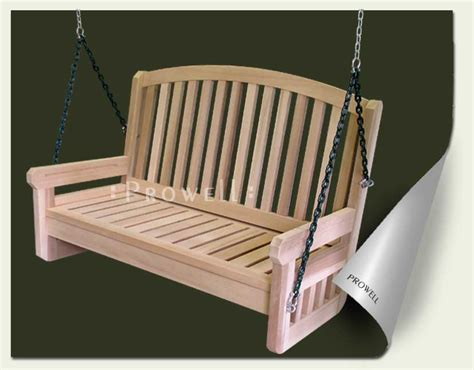 porch swing accessories prowell woodworks premier front porch swing 3