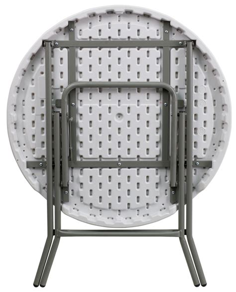 32 Inch Round Plastic Folding Table