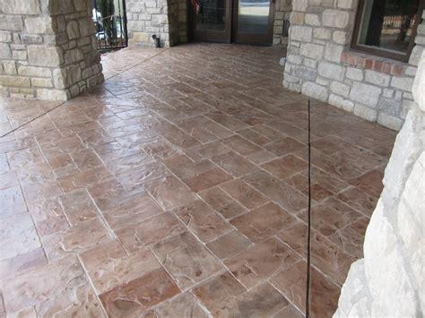 Concrete Patio St by Sted Concrete St Louis Decorative Concrete Resurfacing