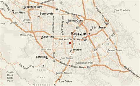 san jose doppler radar map san jose location guide