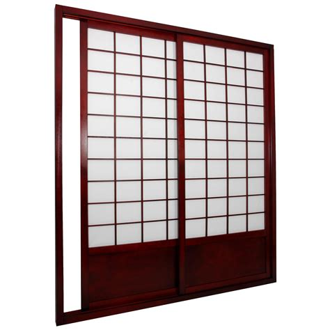 sliding door room divider furniture shoji sided sliding door kit room divider room dividers at hayneedle