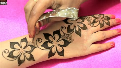 floral blast mehndi designs for romantic date unique easy