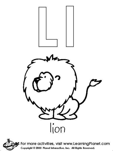 the letter l lesson