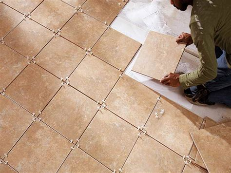 Installing Ceramic Floor Tile Bathroom How To Tile A Bathroom Floor Installation How To Tile A Bathroom Floor Bathroom Glass