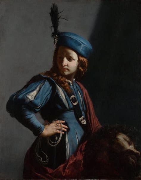 david con la testa di golia guido cagnacci david con la testa di golia 1645 1650