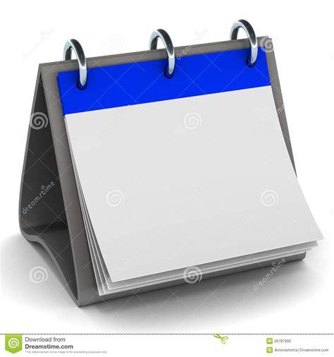 blank daily flip calendar blank calendar stock illustration image of space clear