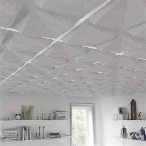 Covering Acoustic Ceiling Tiles by Feltforms Ceiling Tiles Wall Ceiling Tiles