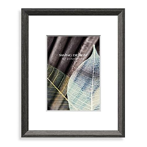 swing design picture frames buy swing design wall frames in charcoal grey from bed