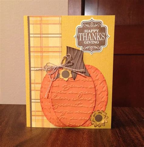 Thanksgiving Handmade Cards - thanksgiving cards handmade thanksgiving cards and punch