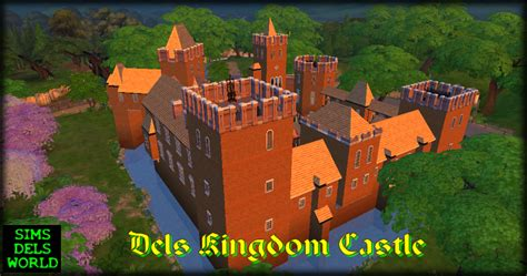 sims 4 medieval castle simsdelsworld the sims 4 dels kingdom castle